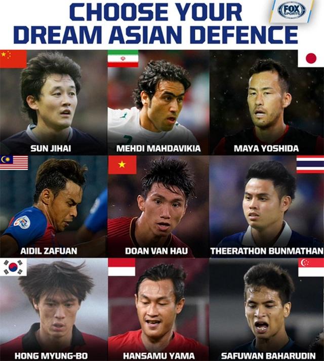 Văn Hậu lọt vào danh sách những hậu vệ hay nhất châu Á - 1
