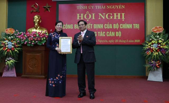 Bà Nguyễn Thanh Hải làm Bí thư Tỉnh uỷ Thái Nguyên - 1