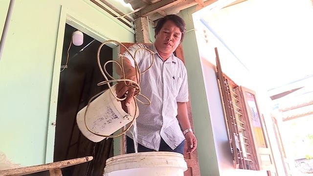 Người dân đảo Bé khát nước sạch - 2