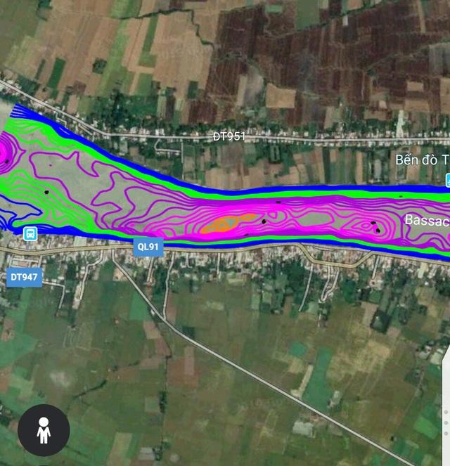 Quốc lộ 91 từng sạt lở xuống sông Hậu… có nguy cơ sạt lở tiếp - 1