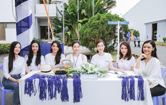 Hoa hậu Đỗ Mỹ Linh, Trần Tiểu Vy cùng dàn Á hậu đi hiến máu nhân đạo - 2