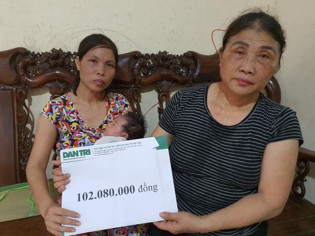 Người vợ không thể về chịu tang chồng được bạn đọc giúp đỡ gần 200 triệu - 1