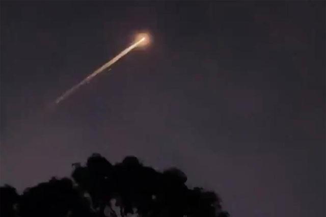 Vật thể bí ẩn xuất hiện trên bầu trời nước Úc - 1