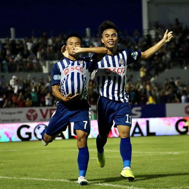 Bà Rịa Vũng Tàu gây sốc trước Sài Gòn FC - 1