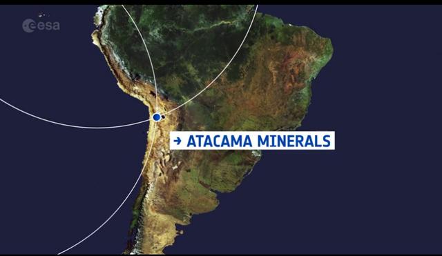 Mỏ khoáng sản rộng lớn ở sa mạc Atacama nhìn từ không gian - 2