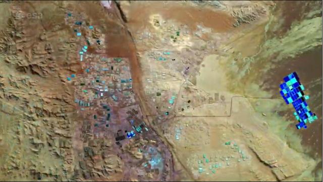 Mỏ khoáng sản rộng lớn ở sa mạc Atacama nhìn từ không gian - 3