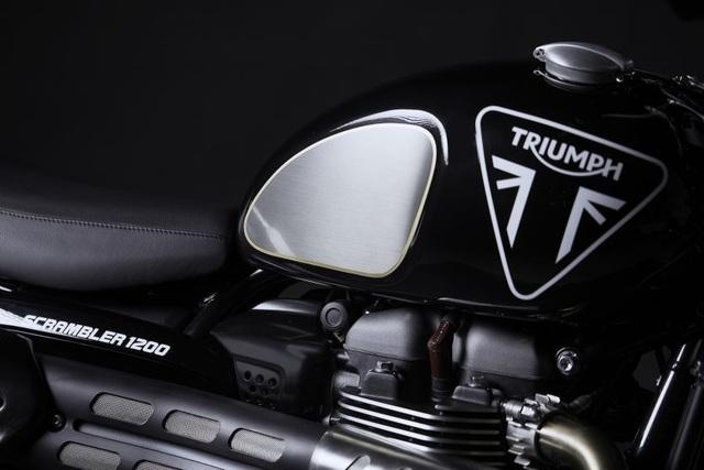 Cận cảnh hàng hiếm Triumph Scrambler 1200 Bond Edition 2020 - 3