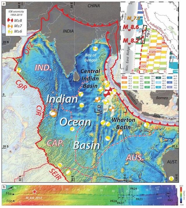 Mảng kiến tạo khổng lồ nằm dưới Ấn Độ Dương đang vỡ đôi - 2
