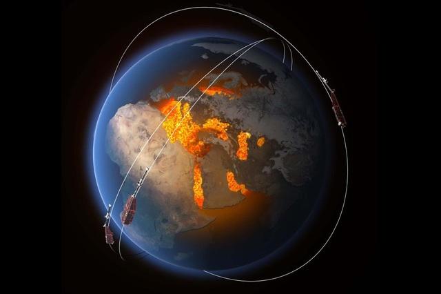 Từ trường Trái đất suy yếu ảnh hưởng nghiêm trọng tới các vệ tinh - 1