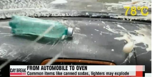 Những vật dụng không nên để trong xe vào mùa hè - 3