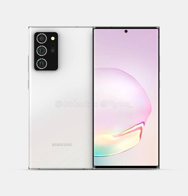 Những hình ảnh và video thiết kế hoàn chỉnh của Galaxy Note20+ - Ảnh minh hoạ 2