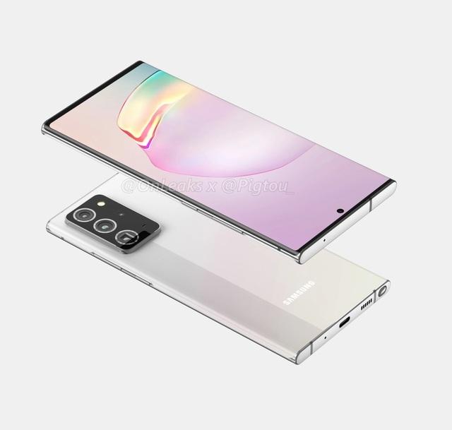 Những hình ảnh và video thiết kế hoàn chỉnh của Galaxy Note20+ - Ảnh minh hoạ 4