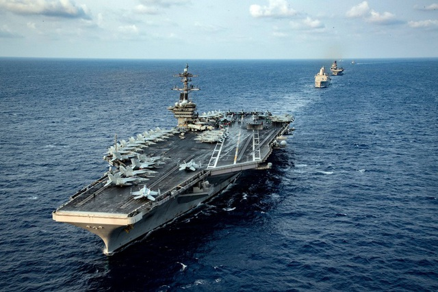 Former US Admiral criticizes China for turning East Sea into a