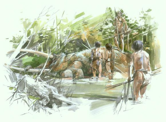 Phát hiện bộ xương voi cổ đại 300.000 năm tuổi ở Đức - 2