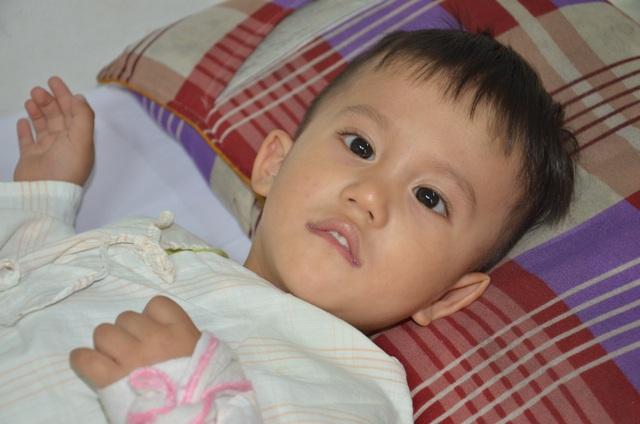 Nhói lòng ánh mắt khao khát sống của cậu bé 3 tuổi bị dày vò trong bệnh tật - 1