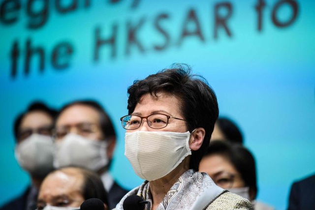 Lãnh đạo Hong Kong trấn an làn sóng biểu tình chống dự luật an ninh  - 1