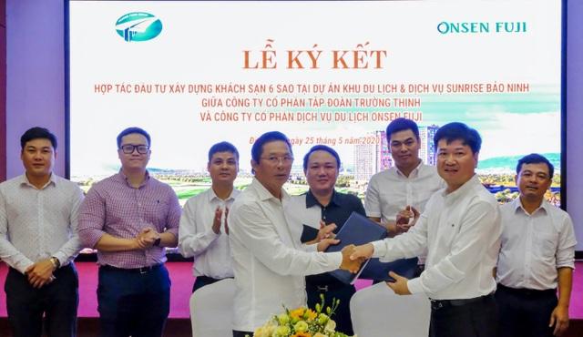Lễ ký kết hợp tác phát triển khách sạn đẳng cấp 6 sao tại trung tâm Quảng Bình - 1