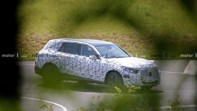 Mercedes GLC thế hệ mới xuất hiện trên đường chạy thử - 3