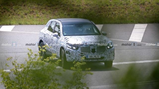 Mercedes GLC thế hệ mới xuất hiện trên đường chạy thử - 2