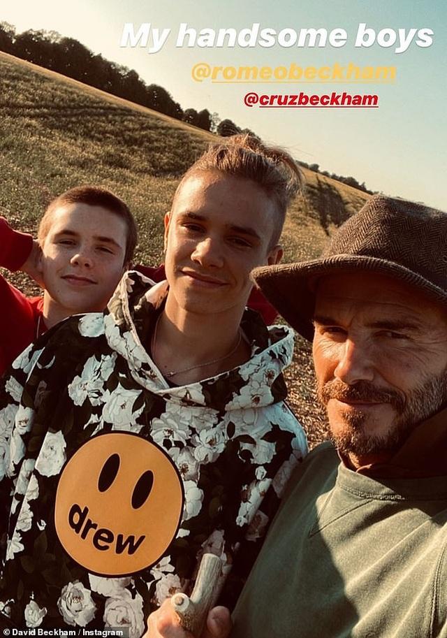Cuộc sống cách ly tĩnh lặng, vui thú điền viên của gia đình Beckham - 4