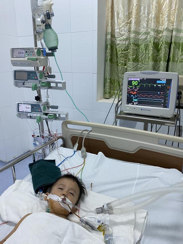 Bé 3 tuổi mắc tim bẩm sinh và đa dị tật đã được phẫu thuật - 2