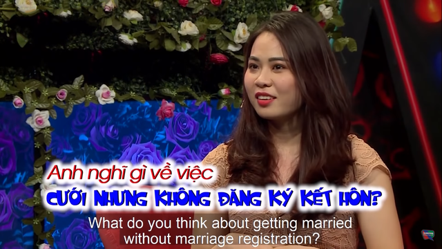 Cô gái đặt câu hỏi lấy chồng nhưng không đăng ký kết hôn gây tranh cãi - 3