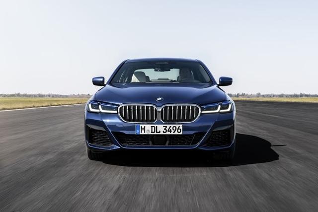 Chi tiết BMW 5-Series phiên bản nâng cấp 2021 - 2