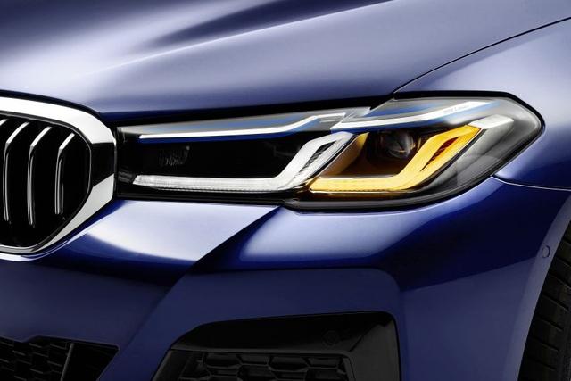 Chi tiết BMW 5-Series phiên bản nâng cấp 2021 - 8