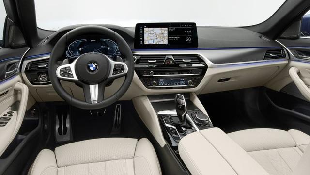 Chi tiết BMW 5-Series phiên bản nâng cấp 2021 - 4