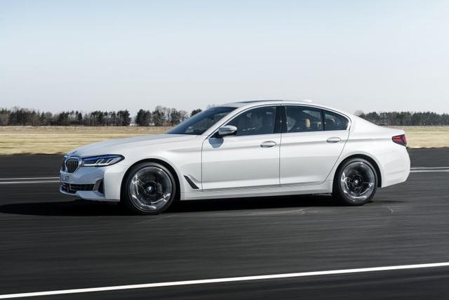 Chi tiết BMW 5-Series phiên bản nâng cấp 2021 - 27