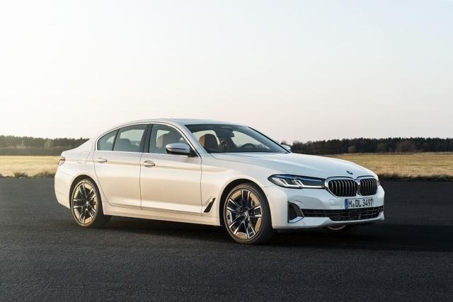 Chi tiết BMW 5-Series phiên bản nâng cấp 2021 - 35
