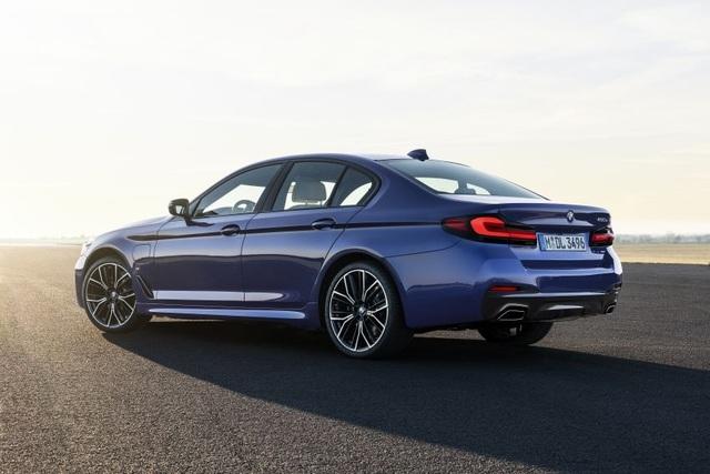 Chi tiết BMW 5-Series phiên bản nâng cấp 2021 - 21