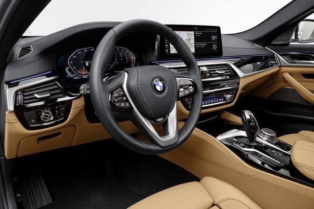Chi tiết BMW 5-Series phiên bản nâng cấp 2021 - 31