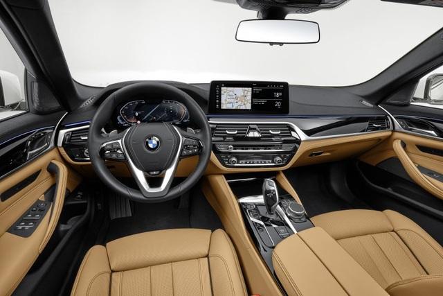Chi tiết BMW 5-Series phiên bản nâng cấp 2021 - 28