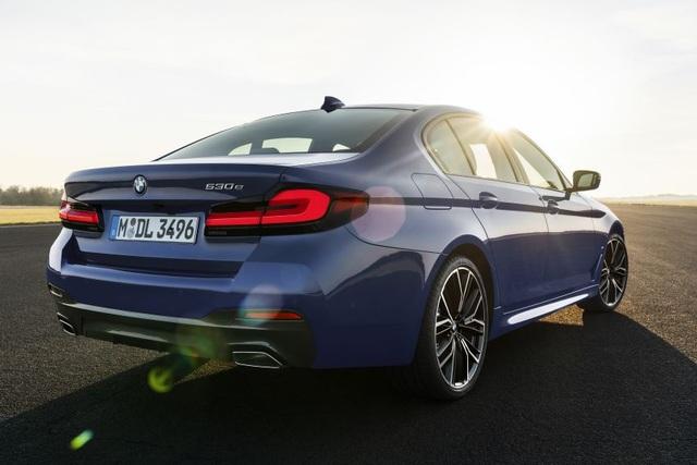 Chi tiết BMW 5-Series phiên bản nâng cấp 2021 - 11