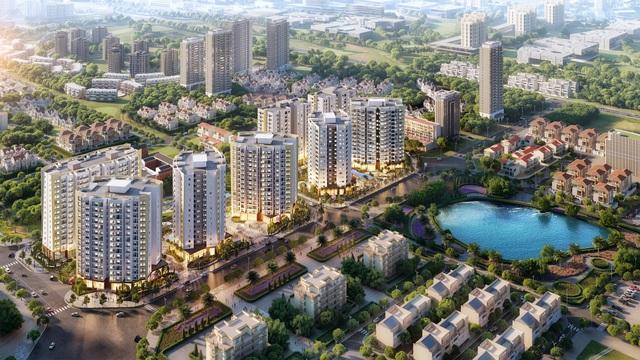 """Tập đoàn BRG ra mắt toà căn hộ đẹp nhất – Central Garden –  """"tầm nhìn triệu đô """" tại KĐT Le Grand Jardin - 1"""