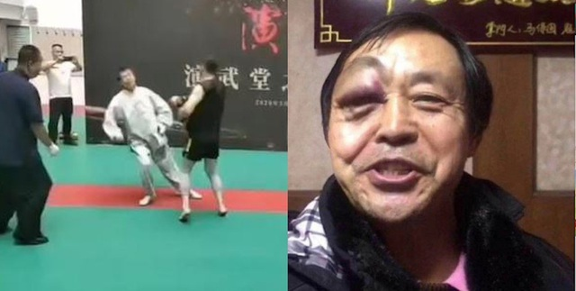 Đấm sưng húp mắt đại sư Thái Cực Quyền, võ sĩ MMA nói gì? - 2