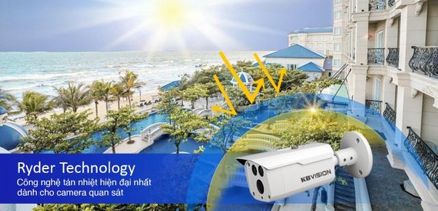 KBVISION: Ryder - Công nghệ giải nhiệt dành cho camera quan sát - 1