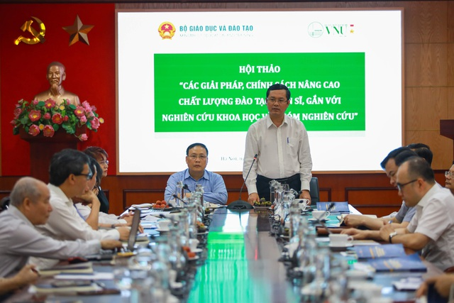 Giải pháp nào để nâng cao chất lượng đào tạo tiến sĩ ở Việt Nam? - 1