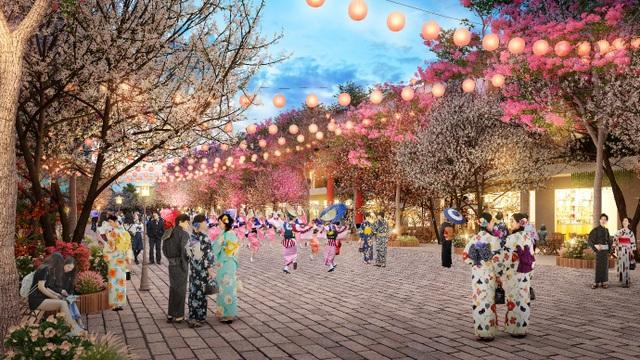 Sắp ra mắt tuyến phố đi bộ Nhật Bản ngay gần Thủ đô - 1