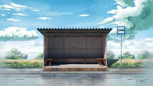 Nam sinh phác họa quê hương theo phong cách Anime đầy ấn tượng - 11