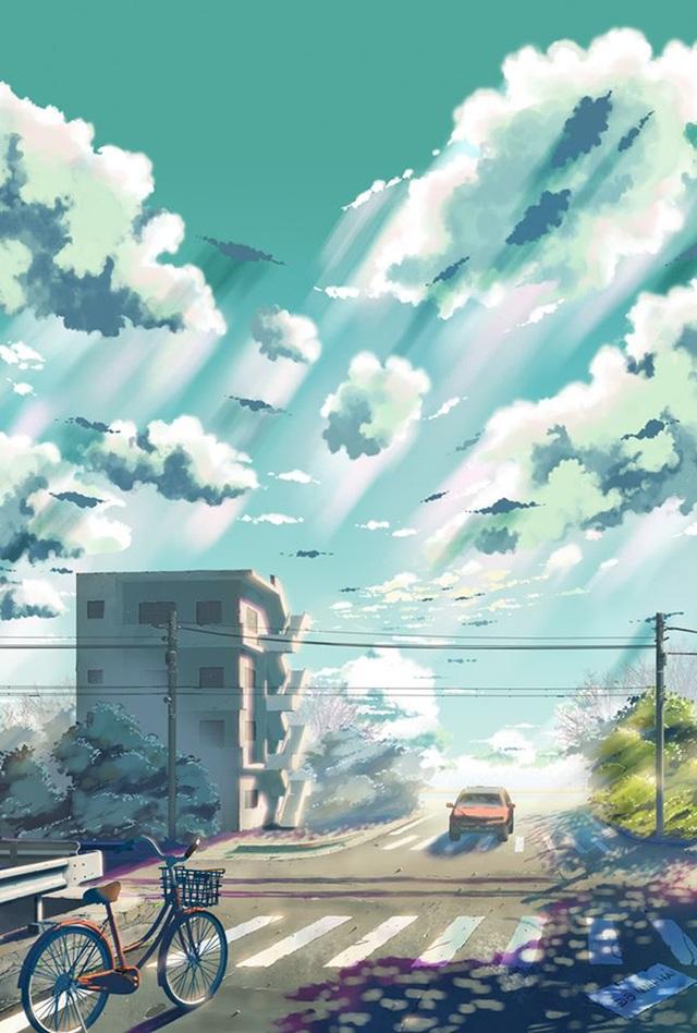 Nam sinh phác họa quê hương theo phong cách Anime đầy ấn tượng - 3