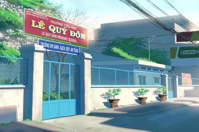 Nam sinh phác họa quê hương theo phong cách Anime đầy ấn tượng - 4