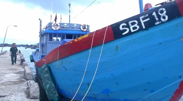 Ngư dân bị phạt gần 1 tỷ đồng vì lén lút đưa tàu cá ra nước ngoài - 1