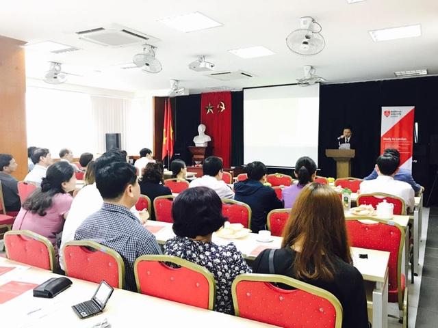 HV Chính sách và Phát triển hợp tác đào tạo với ĐH Middlesex University - 1
