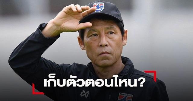 HLV Nishino lo Thái Lan không đủ thời gian chuẩn bị cho vòng loại World Cup - 1