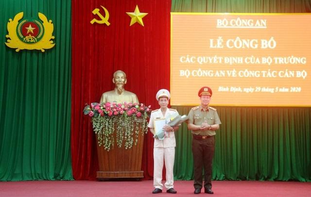 Phó Giám đốc Công an Quảng Ngãi làm Giám đốc Công an Bình Định - 1