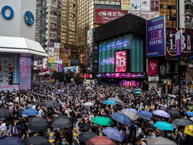 """Hong Kong cảnh báo """"con dao hai lưỡi"""" nếu Mỹ hủy """"vị thế đặc biệt"""" - 1"""
