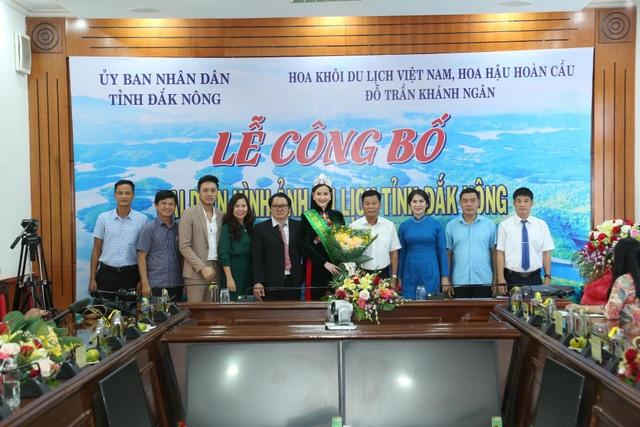 Người đẹp Khánh Ngân là đại diện hình ảnh du lịch tỉnh Đắk Nông - 1