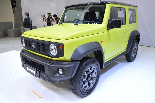Suzuki Jimny lắp ráp tại Ấn Độ chuẩn bị ra mắt - 4